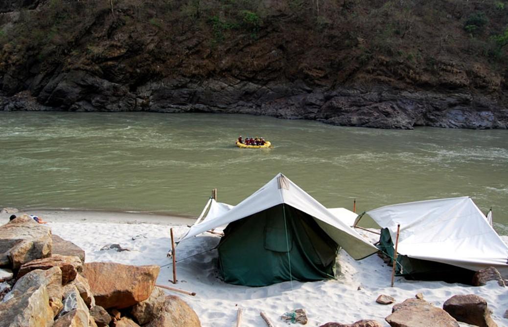 Rishikesh camping site