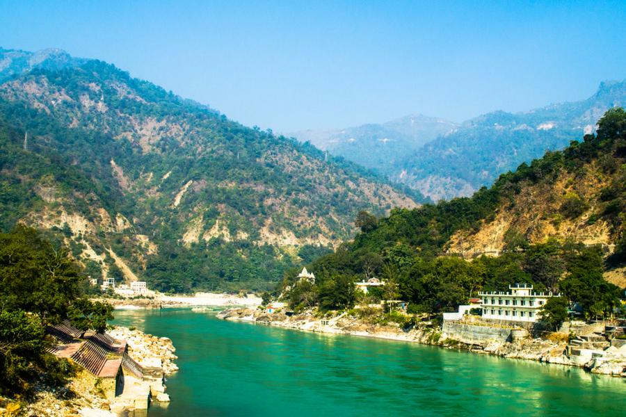 Image result for Rishikesh, Uttarakhand + hill station
