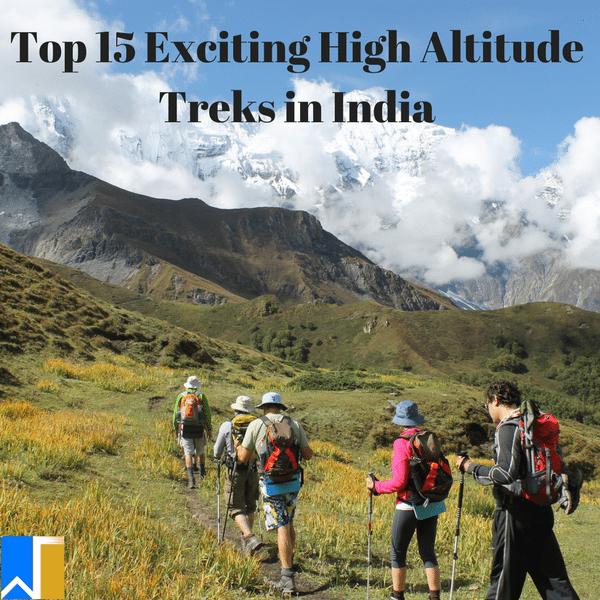 High Altitude Treks in India