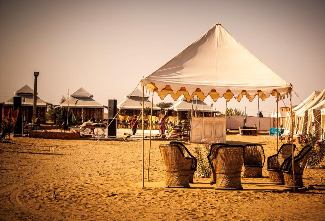 camping destinations in India - Jaisalmer