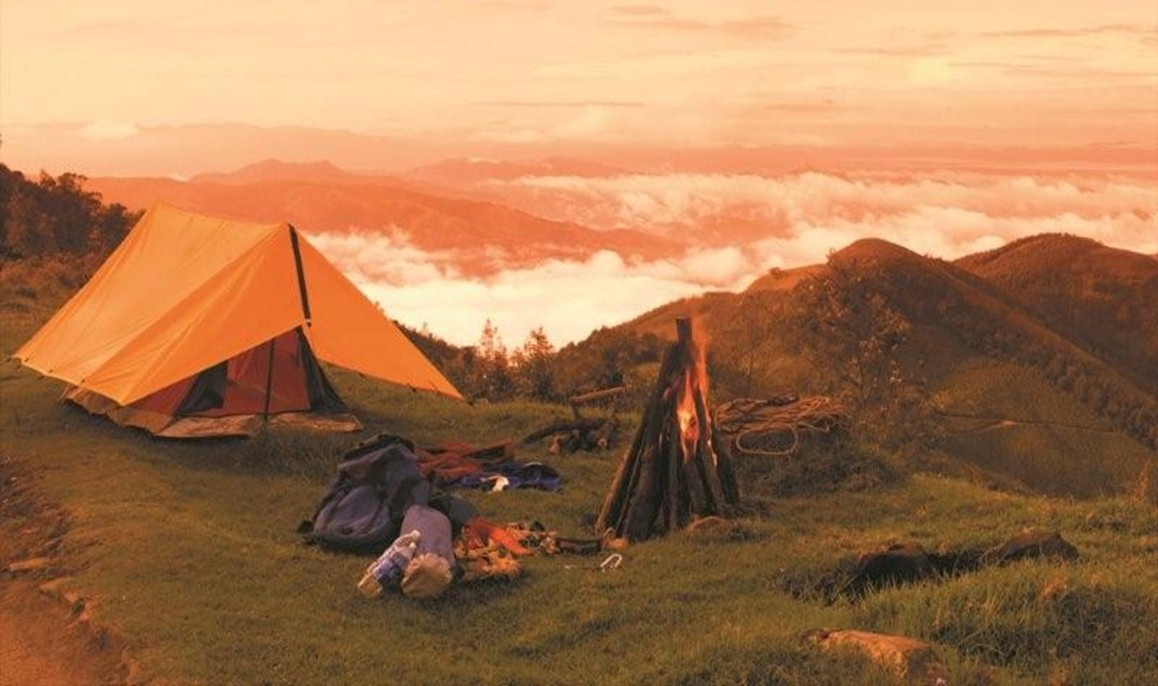 camping destinations in India - Munnar
