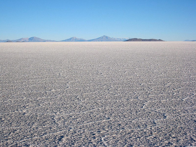 flat salts of bolivia - famous destinations in India and foreign look-alikes