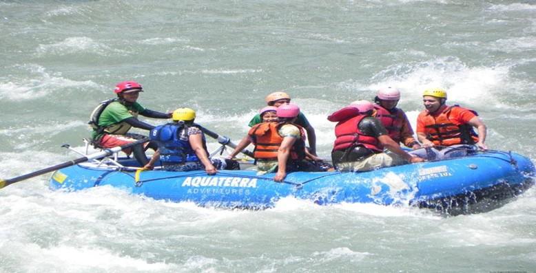 River Rafting at Beas River